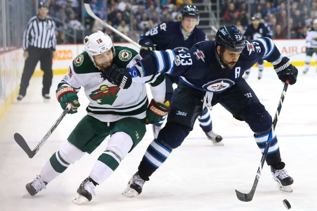 Jets blow four-goal lead, escape with win over Wild