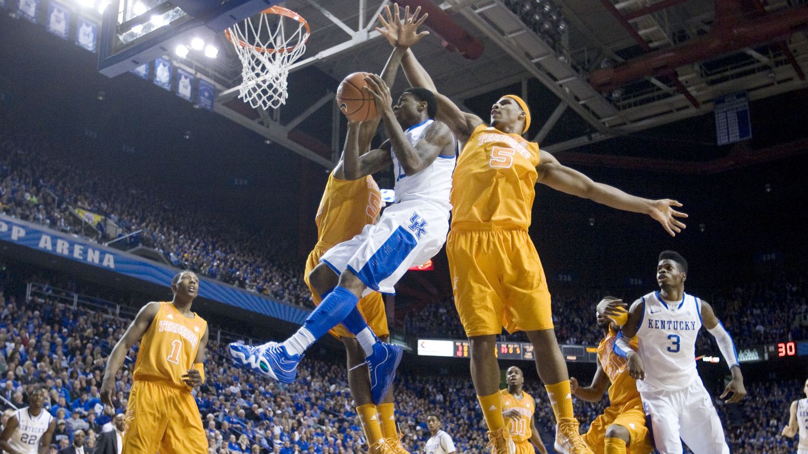 Uk Basketball: Tennessee Volunteers Vs. Kentucky Wildcats: Game Thread