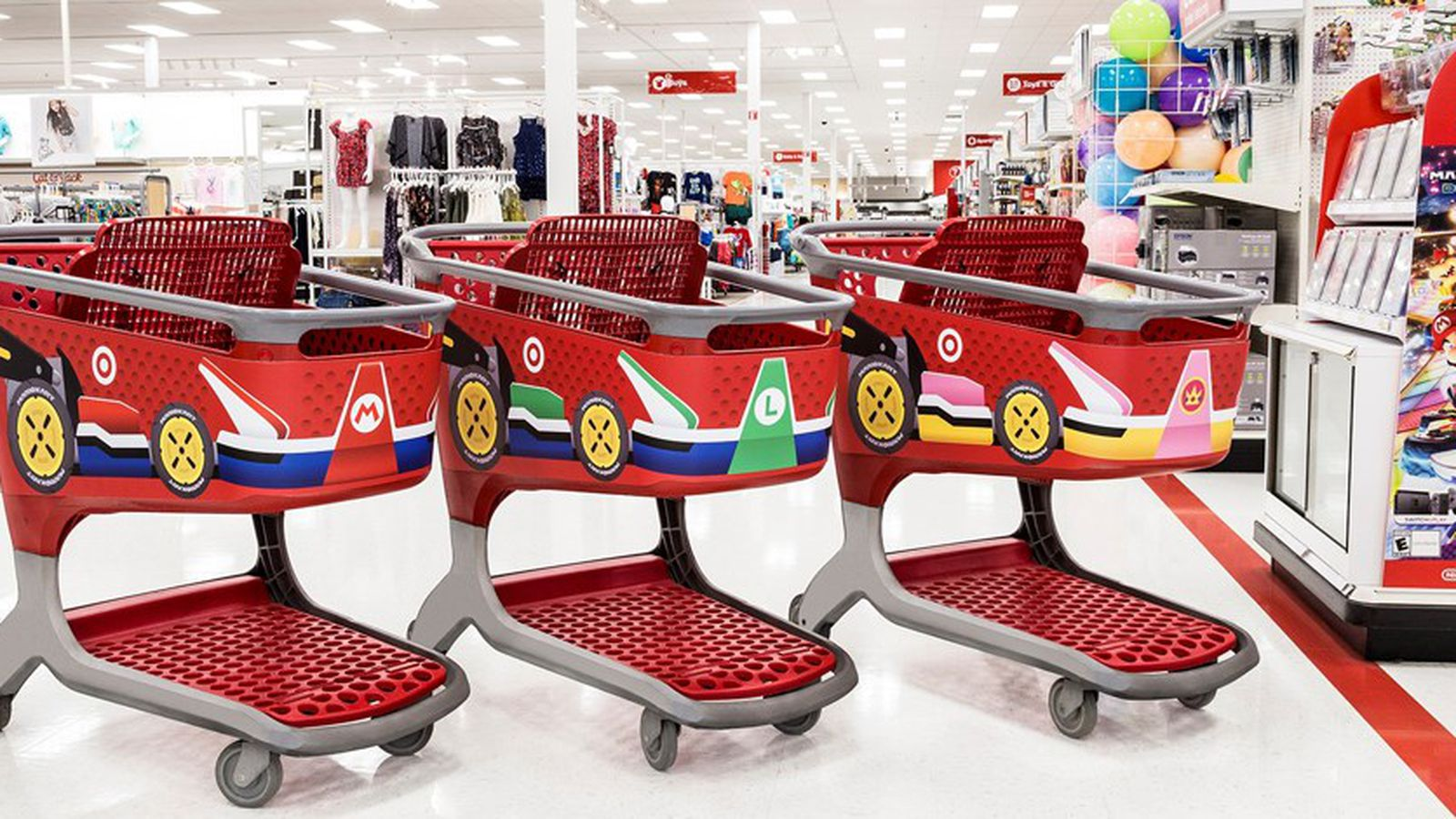 Mario Kart has invaded Target, and it's stressing me out