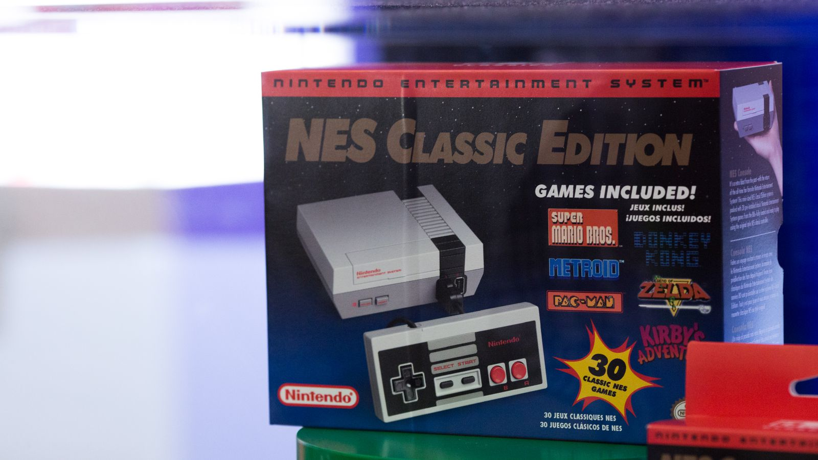 Nintendo's NES Classic will be available at Best Buy stores Monday morning