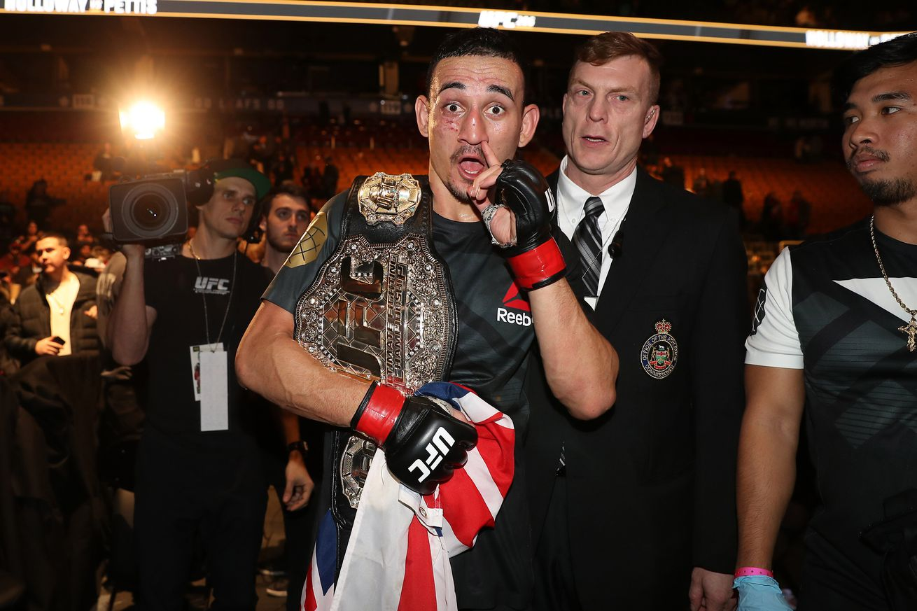 UFC champ Max Holloway lands role in 'Den of Thieves' movie alongside Gerard Butler and 50 Cent