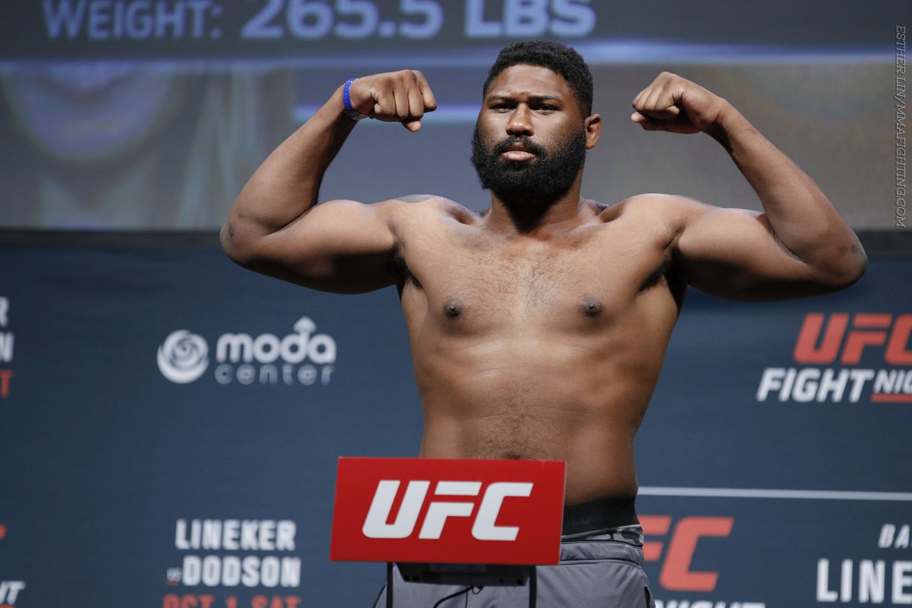 Curtis Blaydes vs. Daniel Omielanczuk targeted for UFC 213