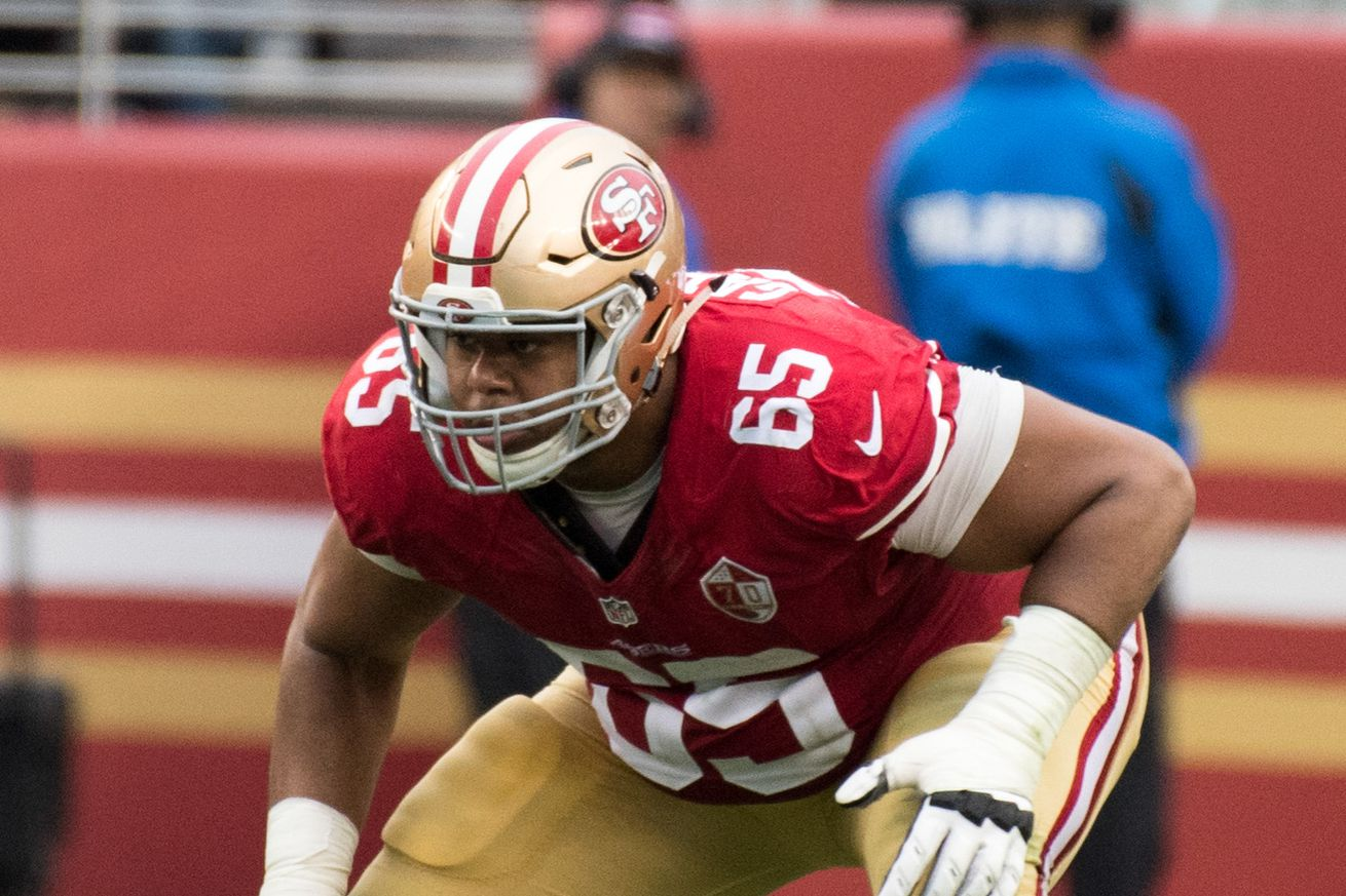 49ers provide multiple first, second team offensive lines in practice