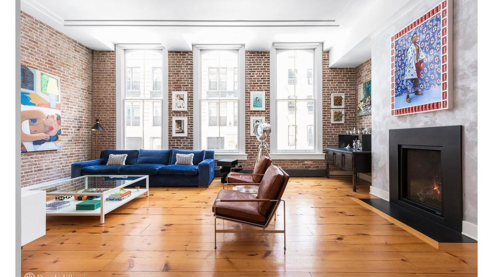 Gallerist s minimalist tribeca condo seeks 3 8m curbed ny for Homes for sale in tribeca