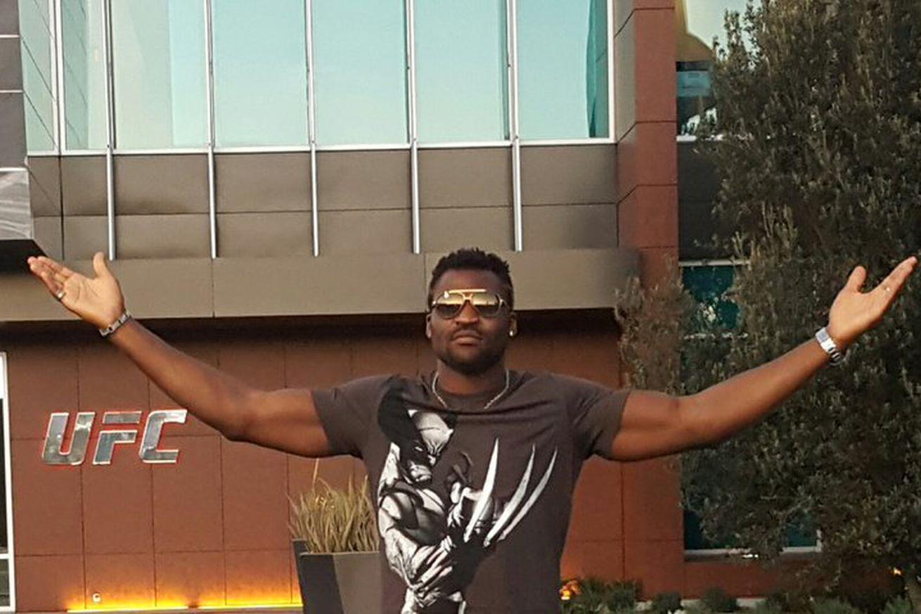 community news, Pic: Francis Ngannou moves to Las Vegas, puts UFC heavyweight division on notice