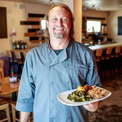 Chef and owner Rob Vance