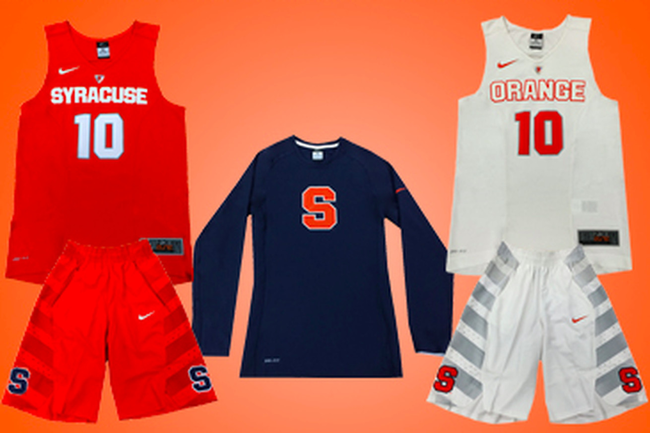 New Syracuse Basketball Nike Hyper Elite Uniforms Coming ...