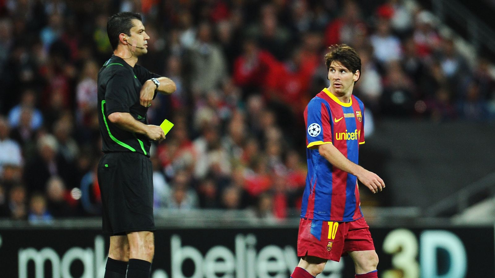 Barcelona Vs Man City Logo: UEFA Assign Referee For Champions League Match Between