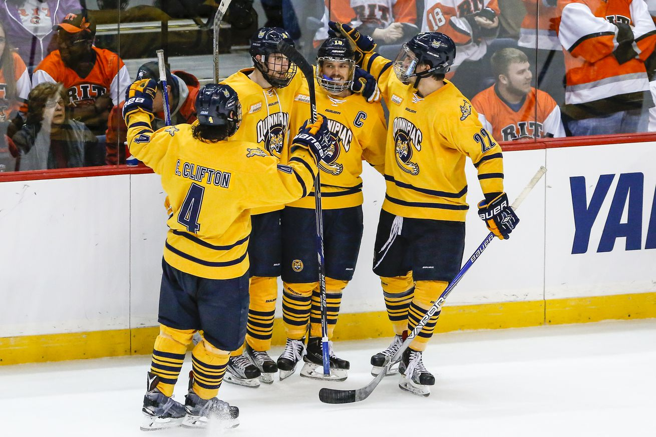 Quinnipiac Hockey Apparel 2016 Frozen Fou...
