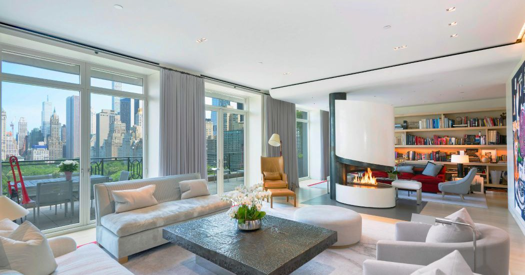 Nyc s 25 most expensive homes for sale curbed ny for Central park penthouses for sale