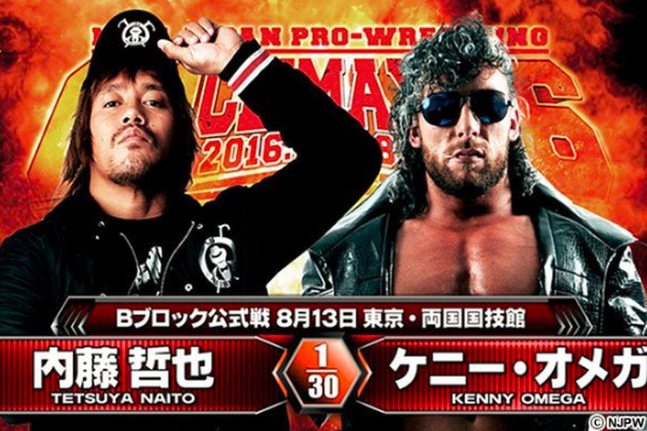 Image result for kenny omega vs naito