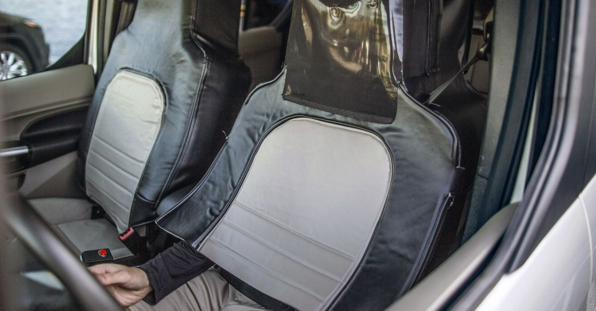 Ford hid a man inside a car seat to test reactions to self-driving cars