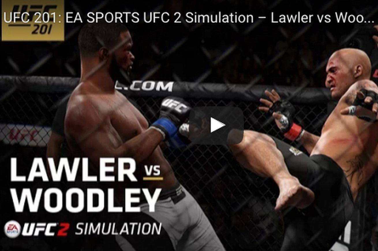 community news, Knockout! Watch Robbie Lawler finish Tyron Woodley at UFC 201