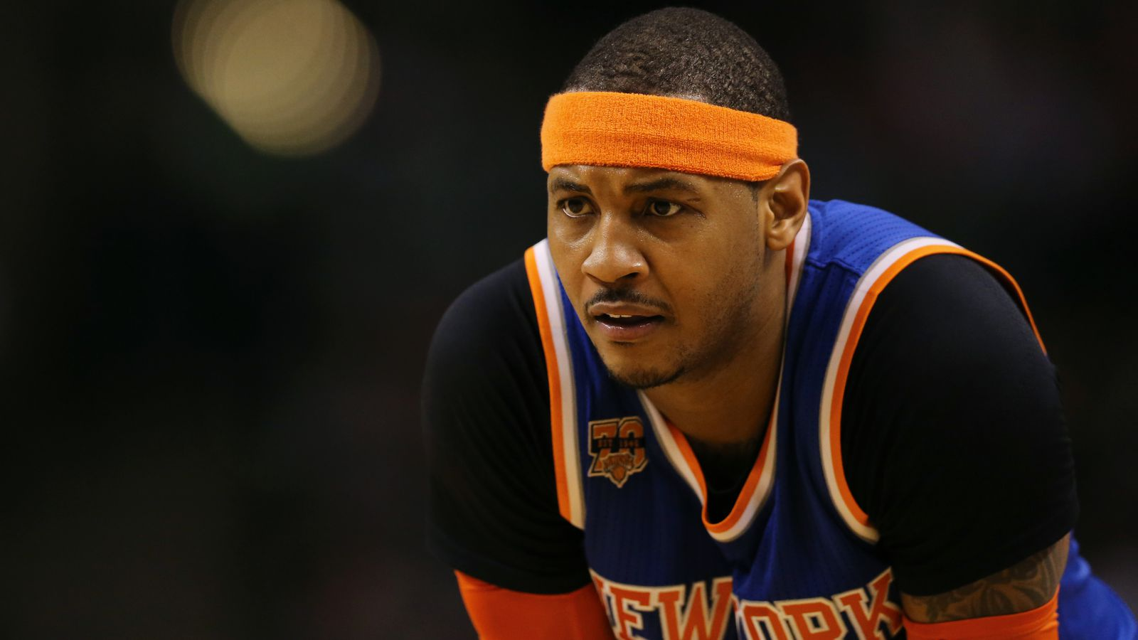Carmelo Anthony trade rumors are being initiated by the Knicks, per report
