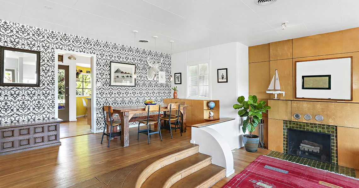 1940s Silver Lake House With Streamline Moderne Vibe Wants 989k Curbed La