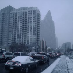 Peachtree Road near Piedmont Road was at a complete standstill.