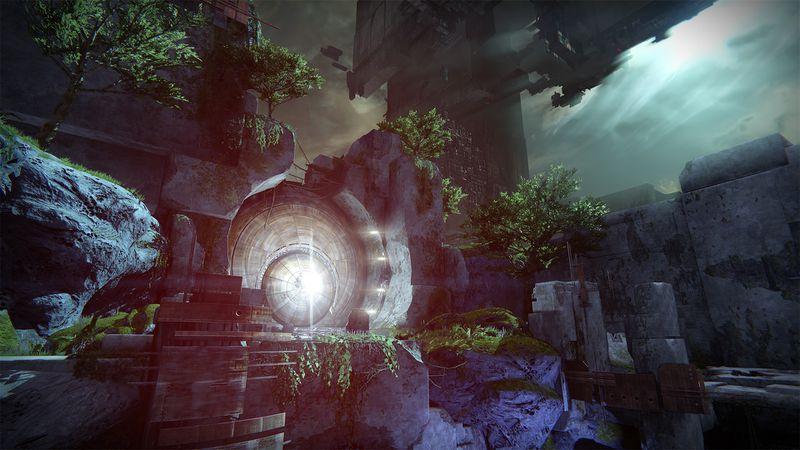 Destiny - Vault of Glass entrance