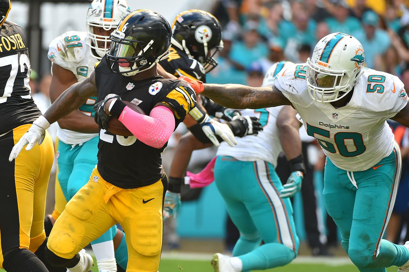 2016 NFL League Leaders: Many Steelers among the NFL elite through six games