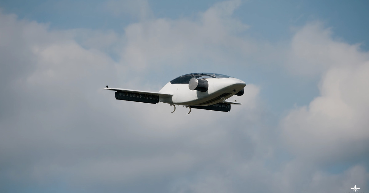Watch This All Electric Flying Car Take Its First Test