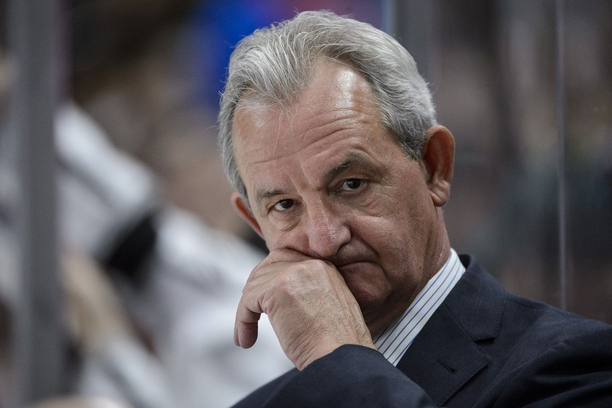 Kings fire coach Darryl Sutter, GM Dean Lombardi