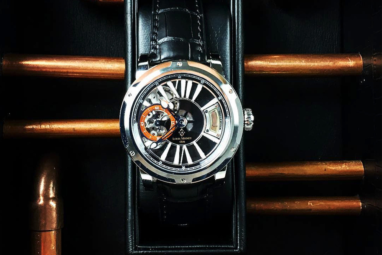 there s a single drop of the world s oldest whiskey in this 45 000 watch