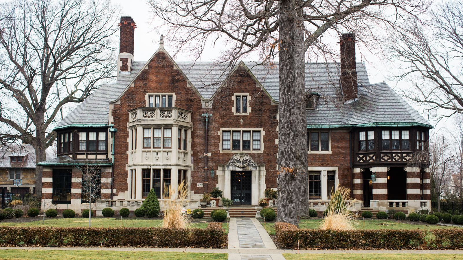 Inside the restoration of the charles t fisher mansion for Building a home in michigan