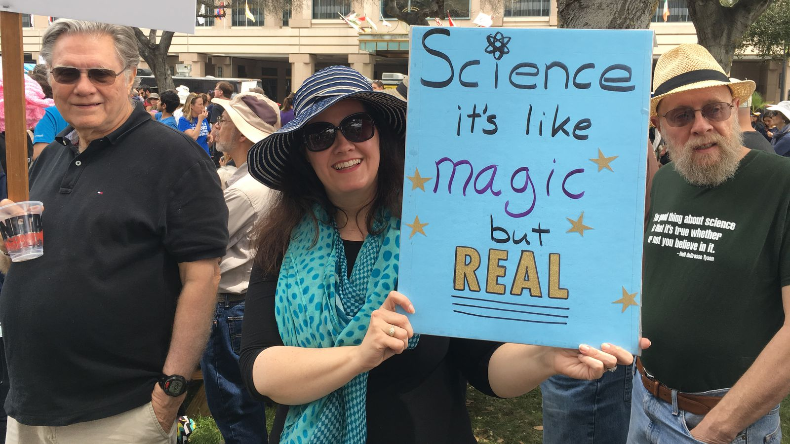 'Science is universal': Silicon Valley joins the March for Science