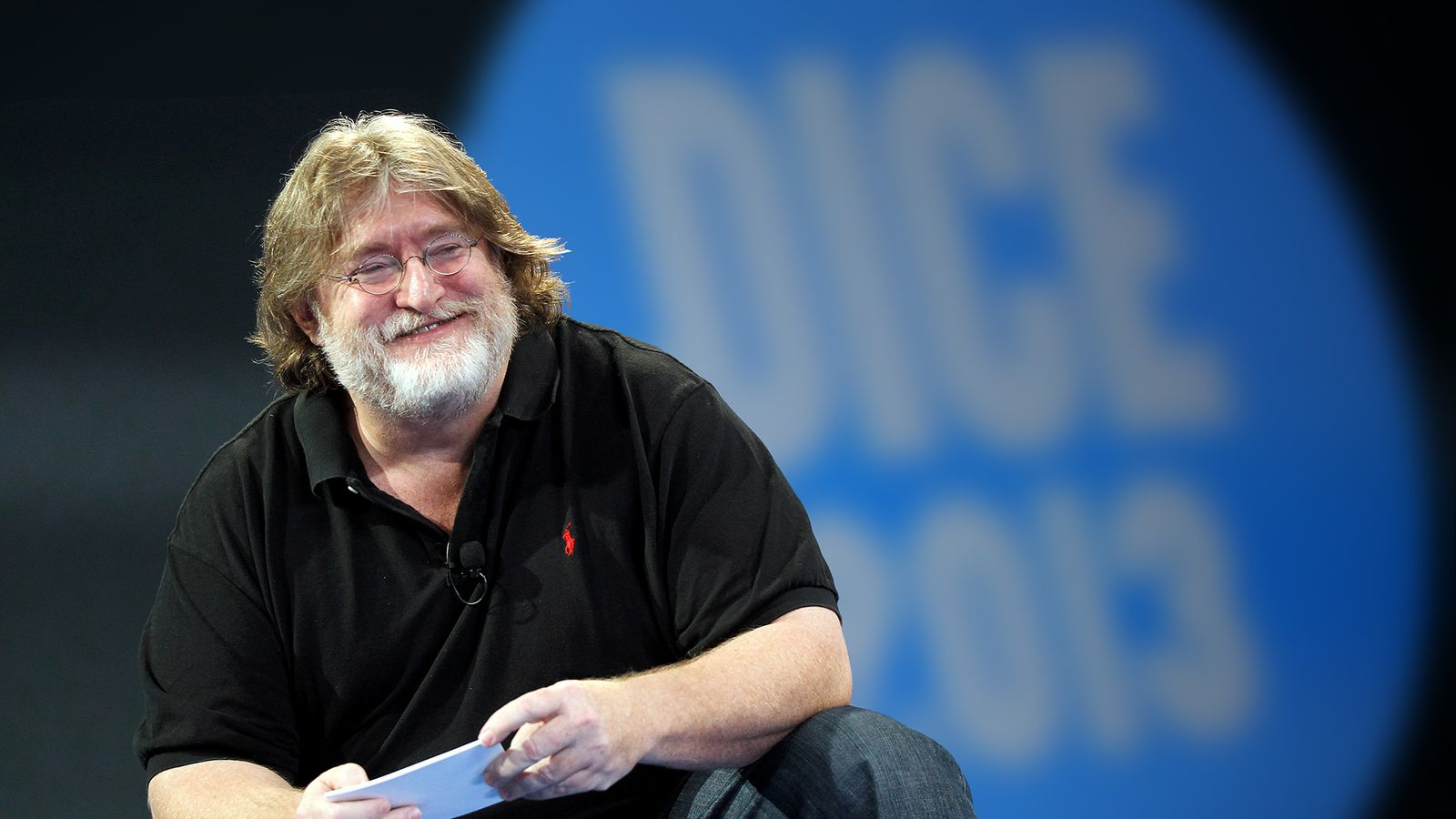 Gabe Newell isn't really here