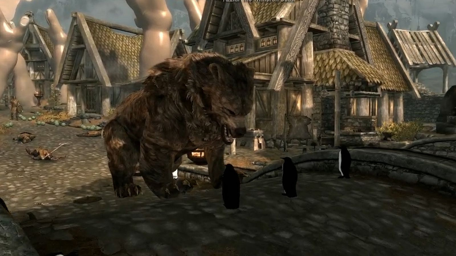 Touch The Skyrim: Nick And Griffin Try To Kill A Giant