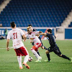 Harrisburg played a compact, physical game to limit NYRB II's chances