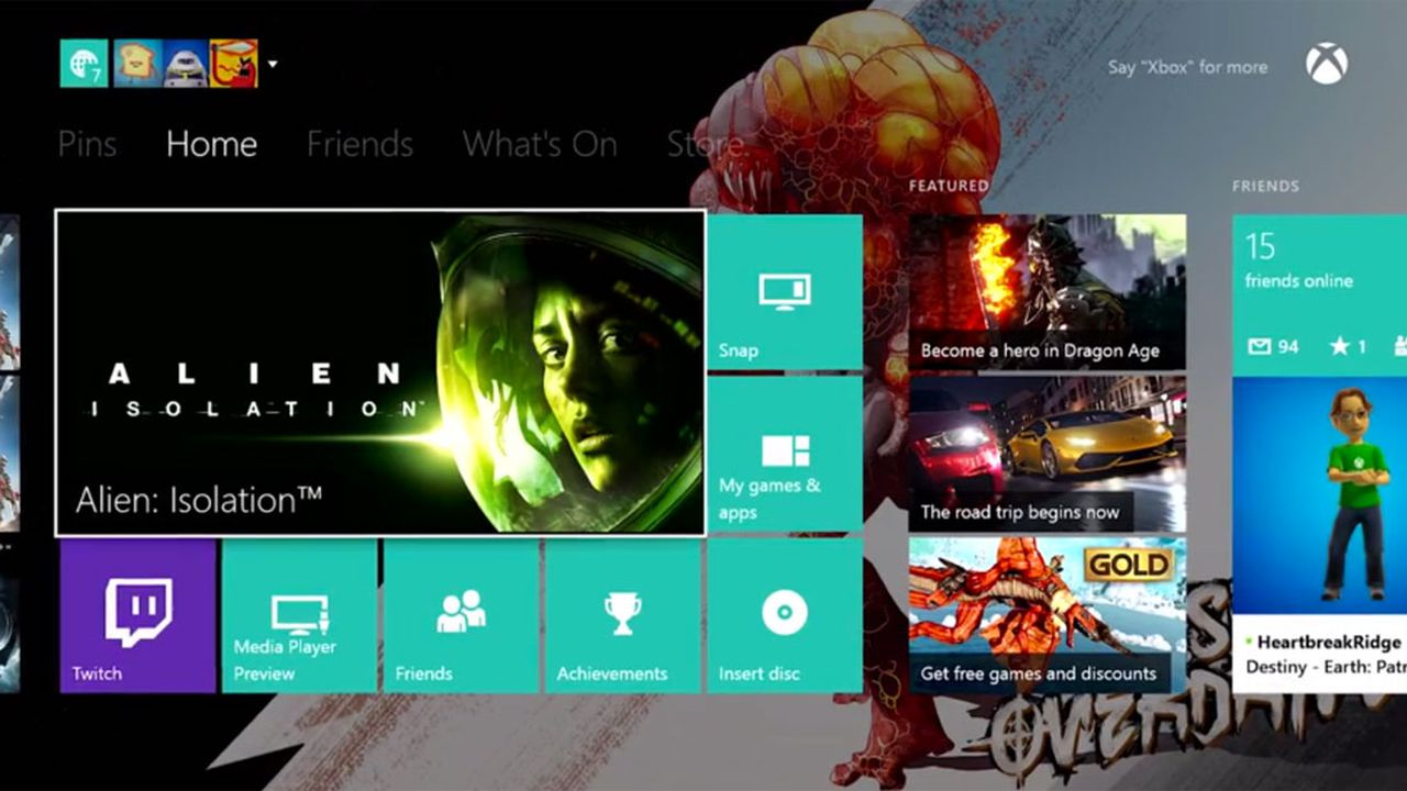 how to add friends on xbox one update