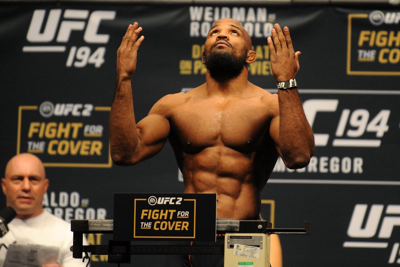 community news, Yoel Romero camp responds to UFC booking of 'Bisping vs St Pierre'