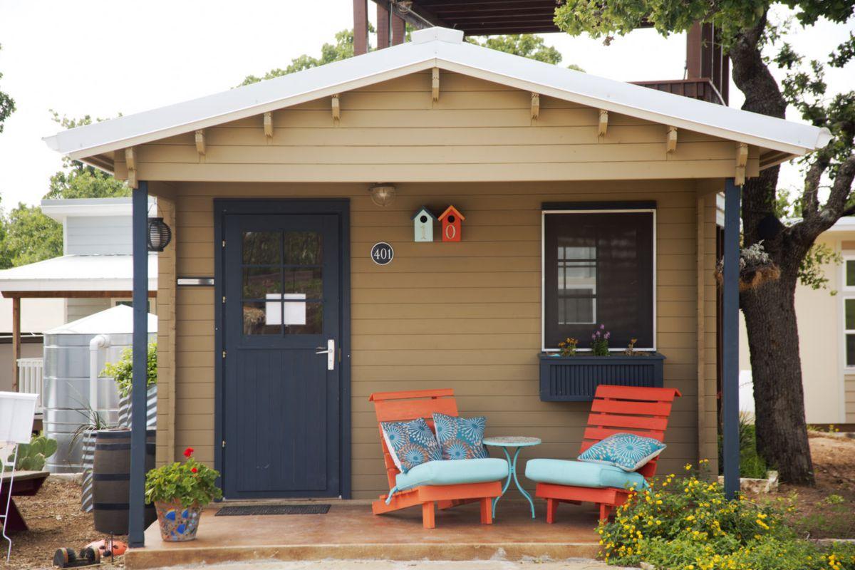 Austins tiny home village wins engineering award Curbed Austin