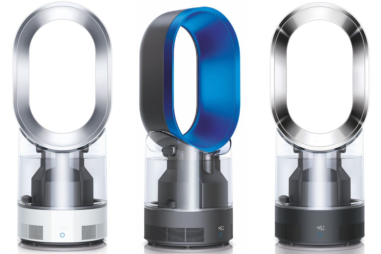 The Dyson humidifier cleans your air with ultraviolet light The  #067DC2