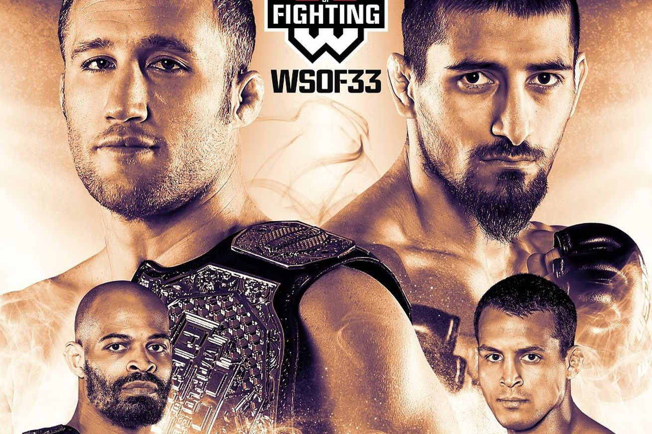 WSOF 33: Gaethje vs Dugulubgov main card complete with six fights
