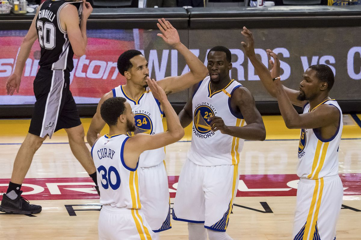 Warriors trounce Spurs without Leonard for 2-0 series lead