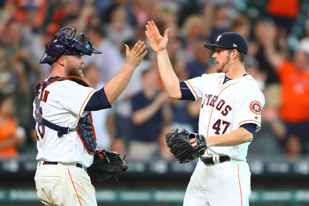 Morton, 3 Astros relievers combine to 5-hit Angels, 3-0
