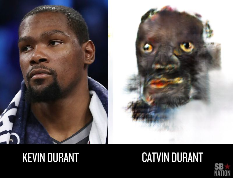 Turning NBA Players Into Cats