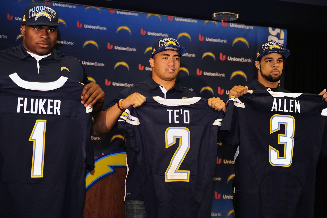 2013 NFL Draft Grades: San Diego Chargers - Bolts From The Blue