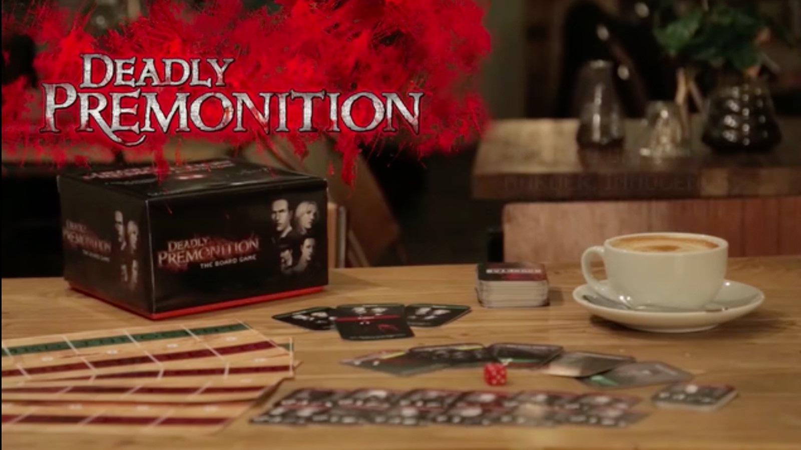 Deadly Premonition: The Board Game seems toned down from the original