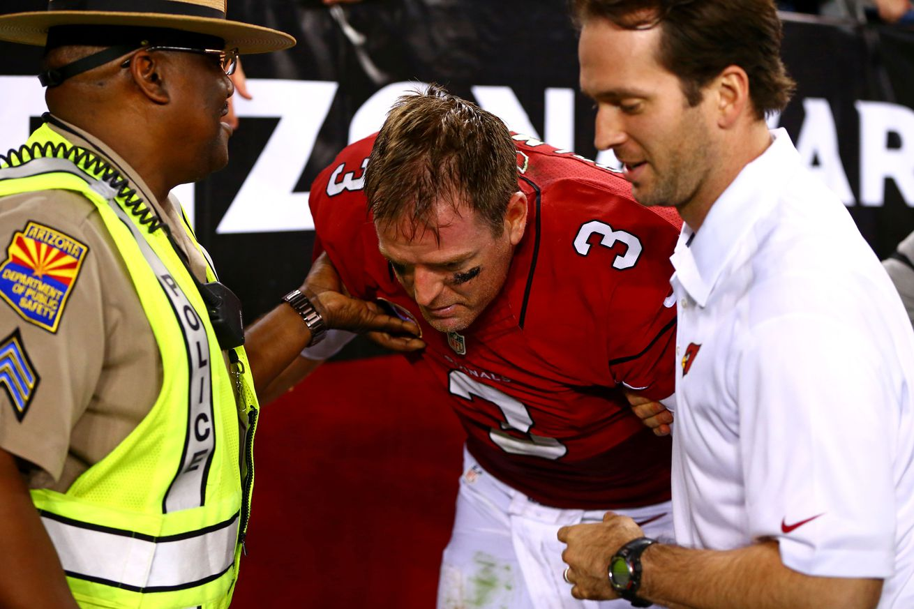 Image result for carson palmer injury 2016