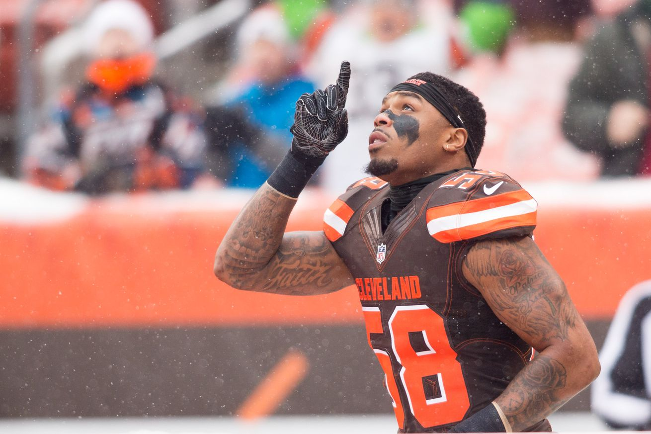 Browns will explore with Chris Kirksey at OLB & Jason McCourty at FS