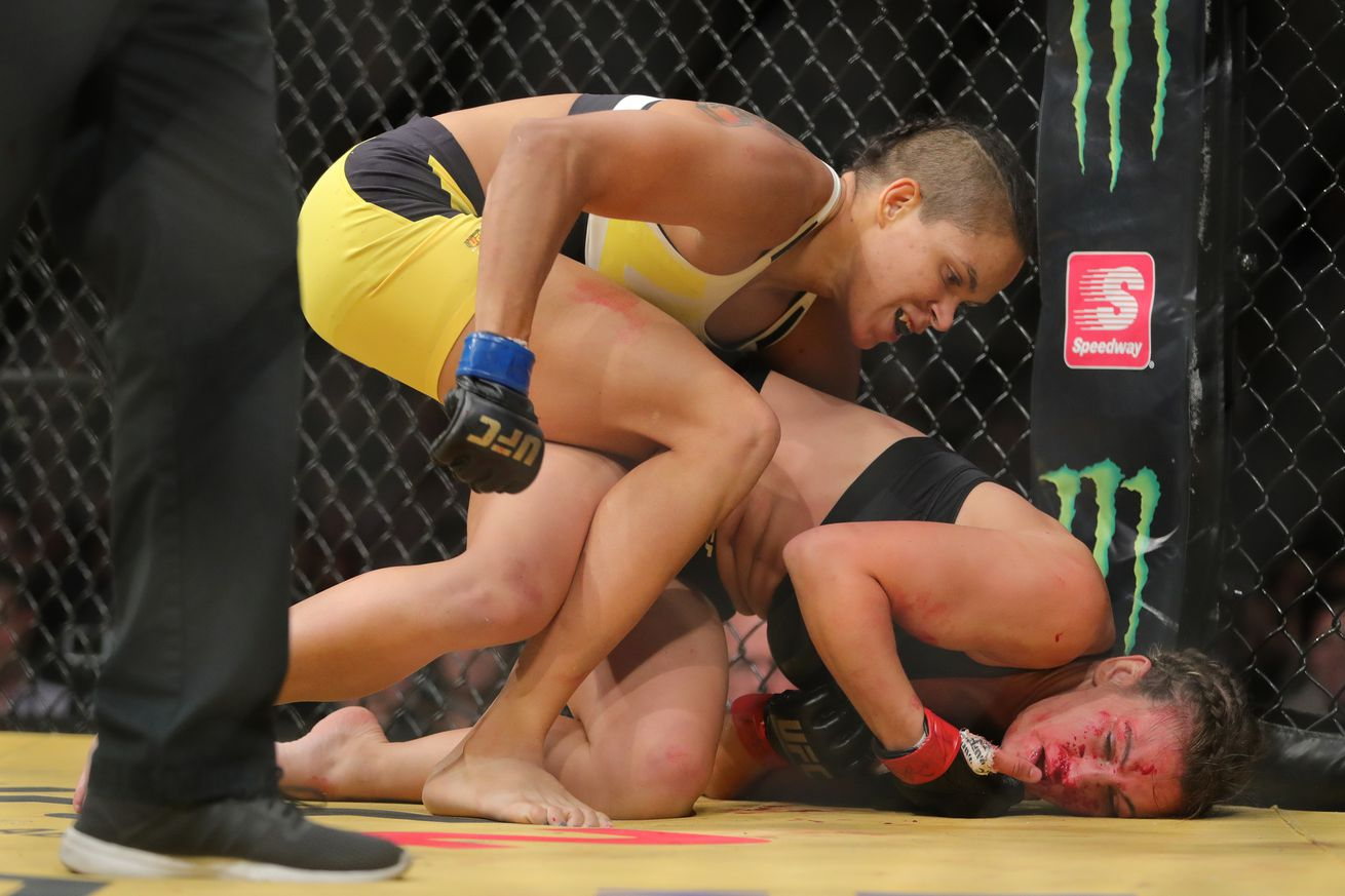 community news, As far as Amanda Nunes is concerned, Miesha Tate is a way better fighter than Ronda Rousey