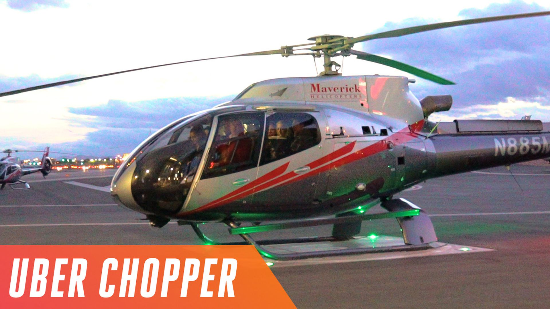 Uber Chopper Is A Total Marketing Gimmick That Happens To Be Stupid Fun