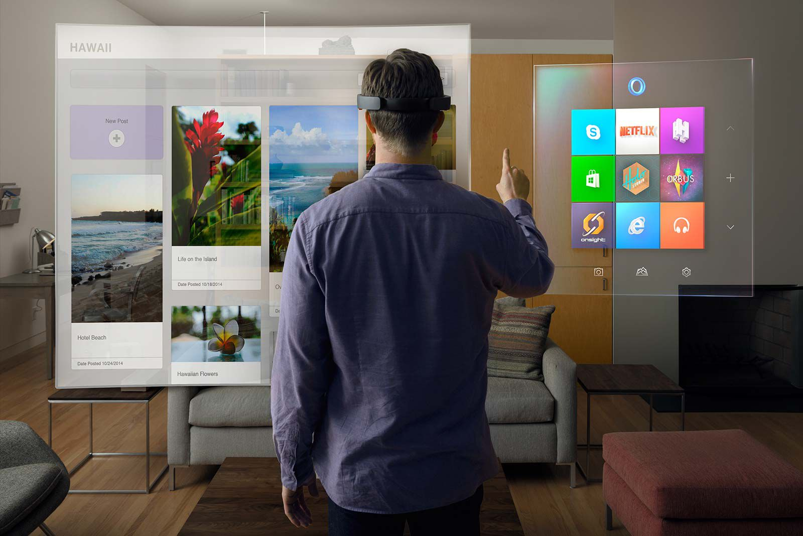 Image result for microsoft hololens