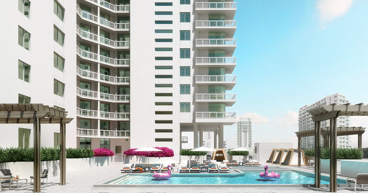 Miami S 2500 Biscayne Launches Leasing In Edgewater