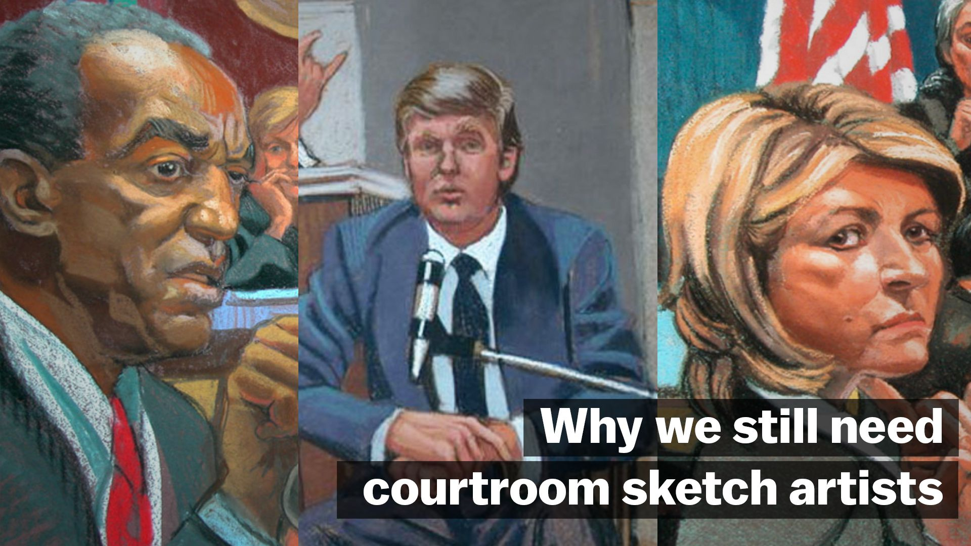 Why we still need courtroom sketch artists vox