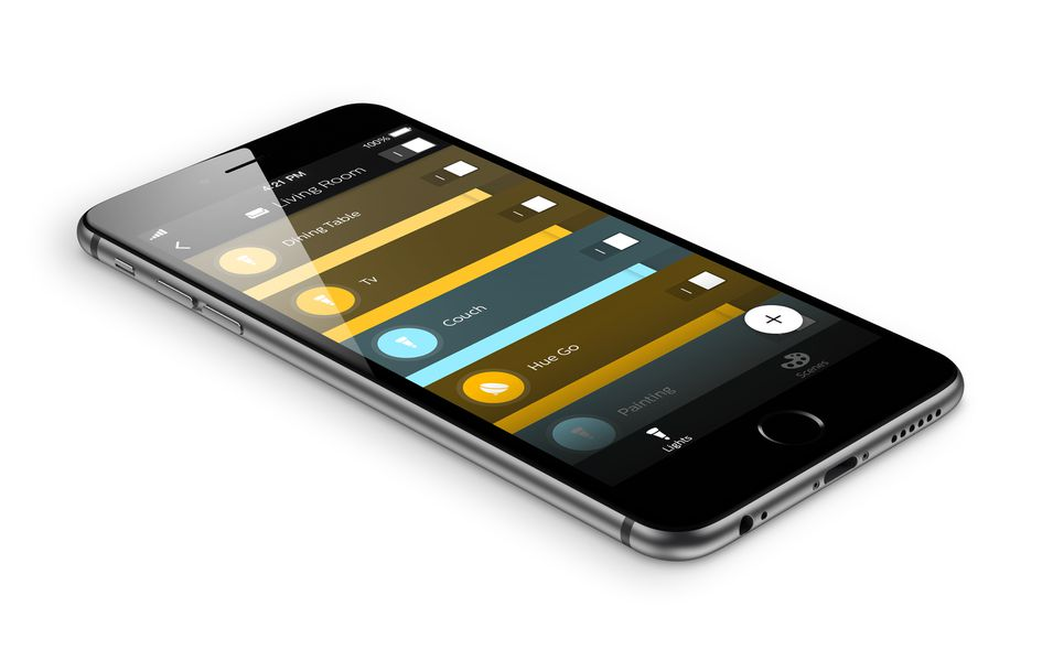 Philips' Hue app gets way better with an overhauled design ...