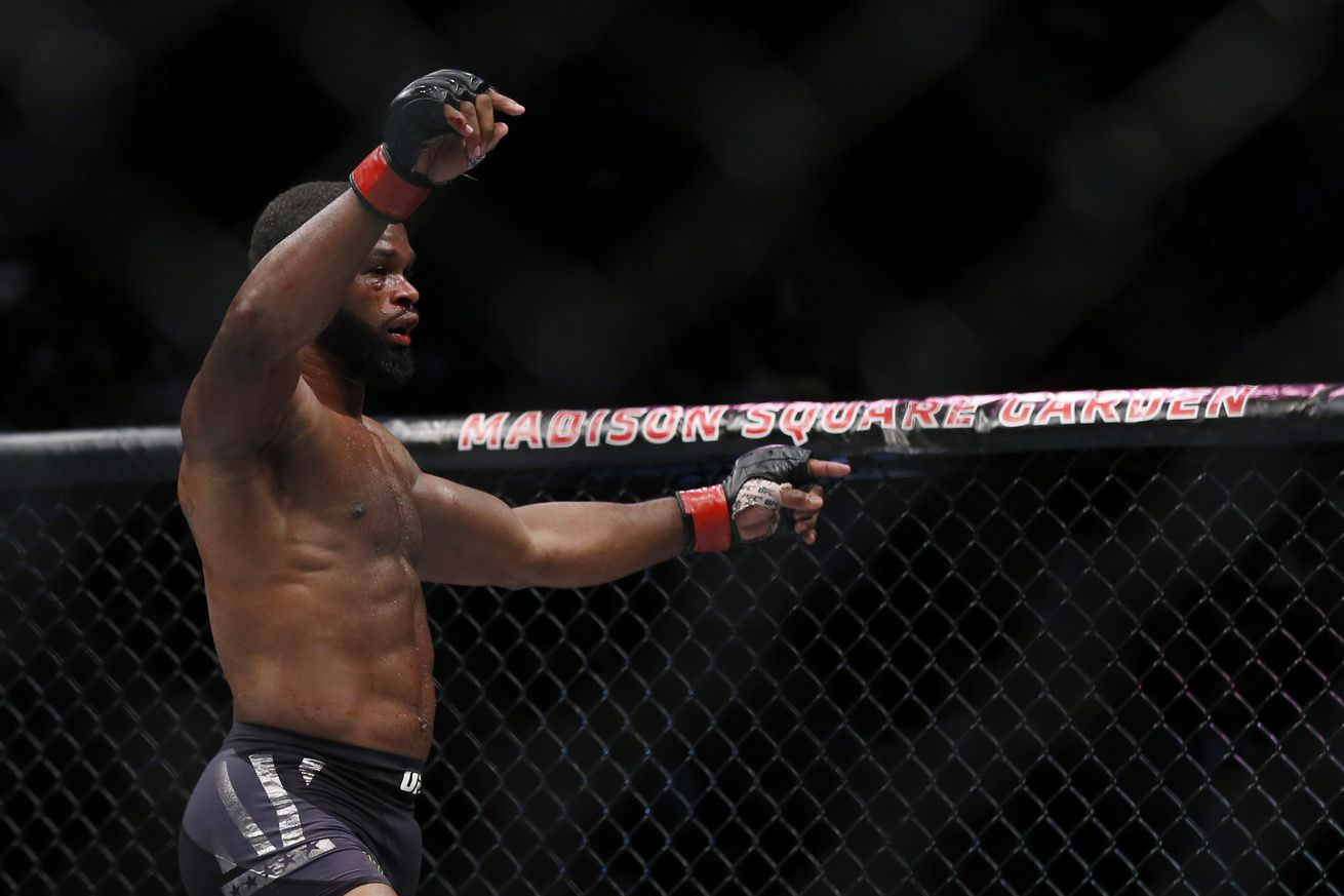 community news, UFC 209: Dana White challenges Tyron Woodley to 'finish the fight' if he wants to be a 'stud champion'