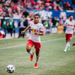 A positive to emerge from a frustrating game: the mature performance of RBNY's 18-year-old midfielder Tyler Adams